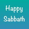 Advent Melodies Agency LLC - Happy Sabbath Stickers artwork