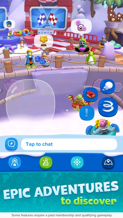 Club Penguin Island Screenshot