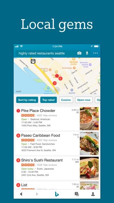 Screenshot 4 for Bing's iPhone app'