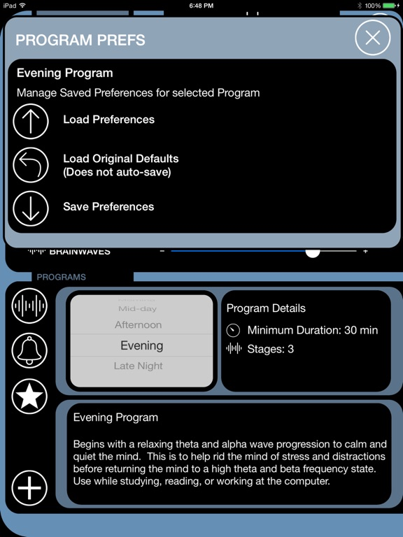 BrainWave Study Smart Screenshot
