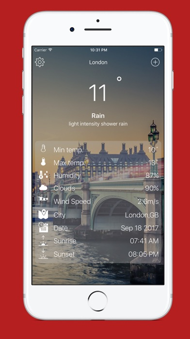 Weatheroit screenshot 3