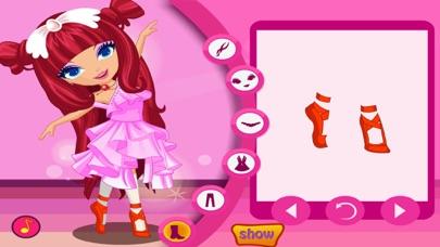 Ballet Dancer -- Dress Up Game Скриншоты5