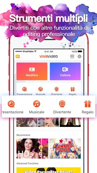 Screenshot of VivaVideo-Miglior Video Editor2