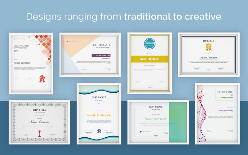 Gift Certificate Templates For Mac