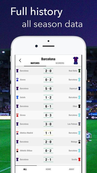Primera Division Live La LigaСкриншоты 4