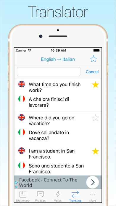Screenshot #7 for Italian Dictionary & Translator +