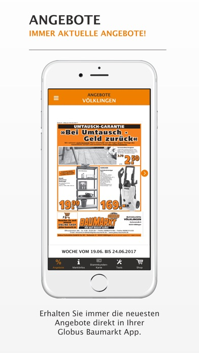 globus baumarkt im app store. Black Bedroom Furniture Sets. Home Design Ideas