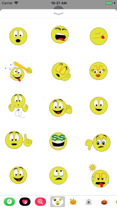 how to use smileys on android