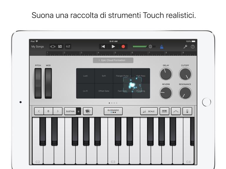 iPad Schermata 3