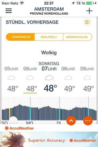 AccuWeather: Weather for Life screenshot 1