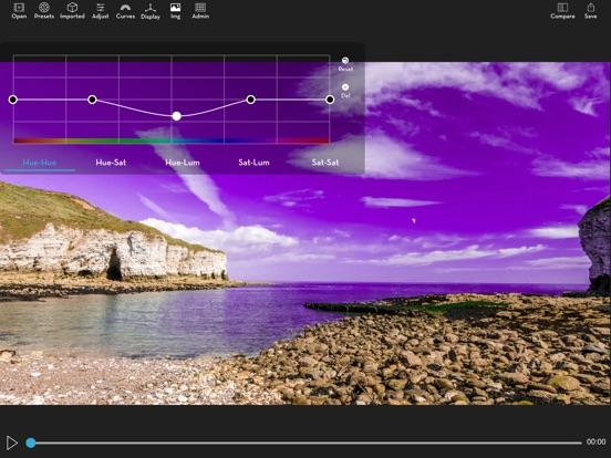 Video LUT Grading Screenshots