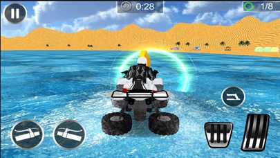 Water Surfer Beach Bike Rider screenshot 4