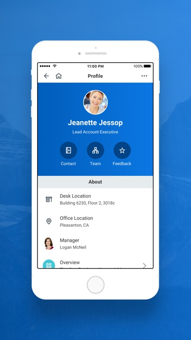 Screenshots of Workday for iPhone