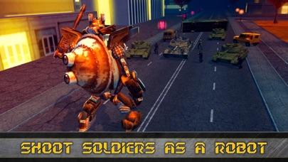 Future Robot Transform Train screenshot 2