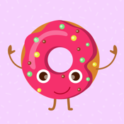 Animated Funny Donut Stickers app review