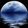 Calendrier lunaire montre de phase de lune