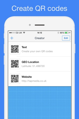 QR Reader for iPhone screenshot 4