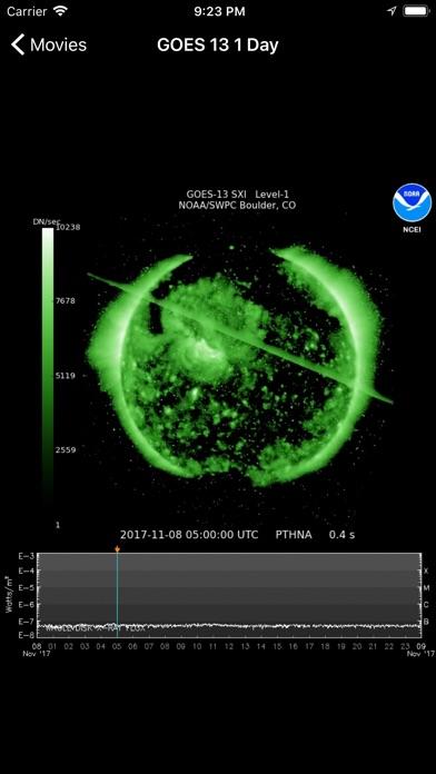 Space Weather App Screenshots