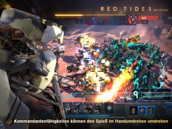 Screenshot 4 Art of War: Red Tides