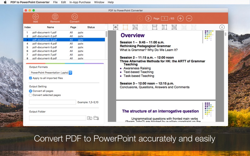 PDF to PowerPoint Converter 앱스토어 스크린샷