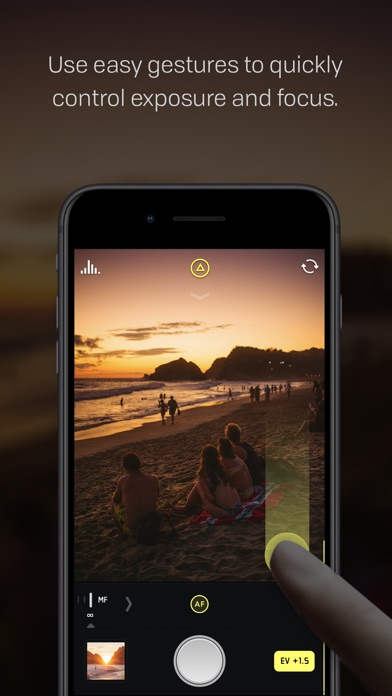 manual camera app for iphone free