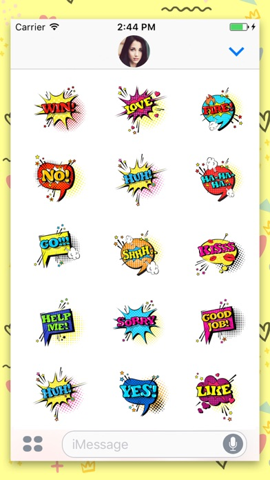 download Comic Speech Animated Stickers apps 1