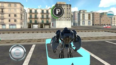 Airplane Robot Car Transporter screenshot 2