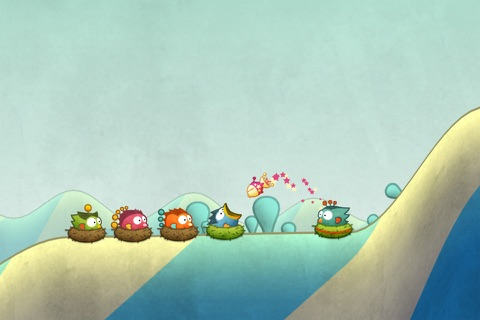 Tiny Wings screenshot 3