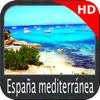España mediterránea HD Cartas