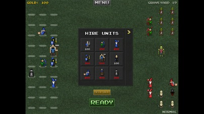 Screenshot #2 pour 8bitWar: Necropolis