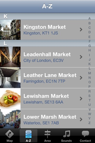 London Market Guide screenshot 3