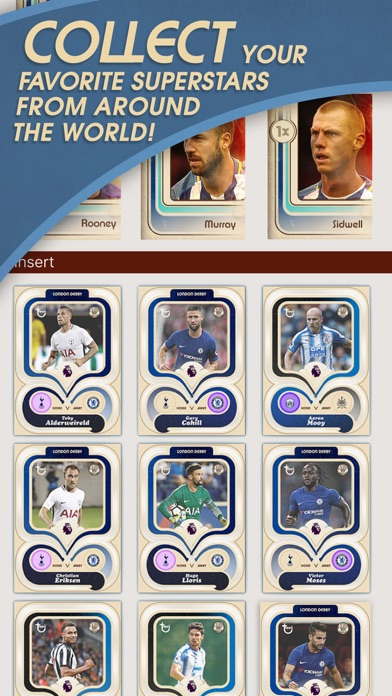 Screenshot of KICK: Card Trader di calcio1
