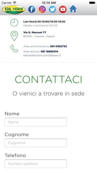 Screenshot of Edil Verde Costruzioni3