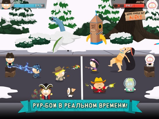 South Park: Phone Destroyer™ Скриншоты8