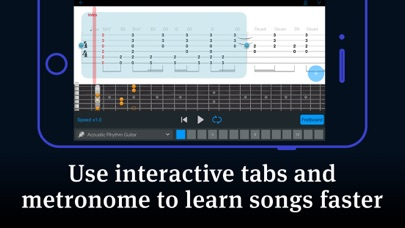 Tabs & Chords - learn and play screenshot 5