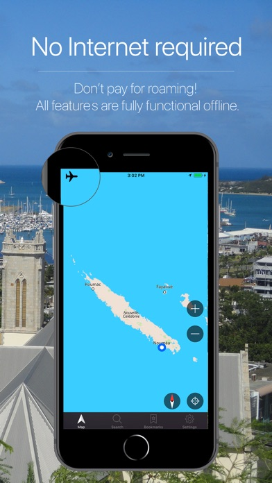 Screenshot for New Caledonia Navigation in Estonia App Store