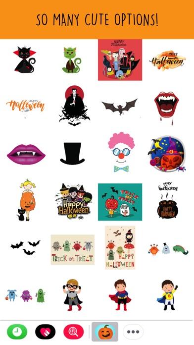 Halloween 2017 Sticker Pack review screenshots