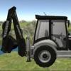 Traktor Digger 3D