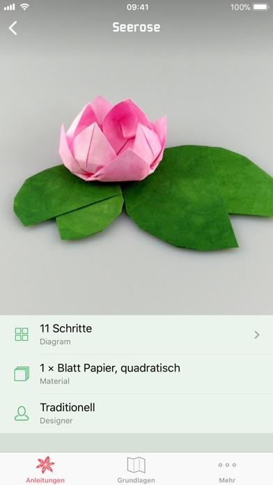 gefalteter brief origami
