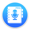 음성 메모 PRO - 녹음, 녹음기, 보이스 레코더, 일기 앱 아이콘 이미지