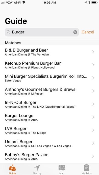 VegasMate Travel Guide Скриншоты5