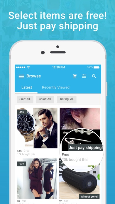 download Wish - Shopping Made Fun apps 0