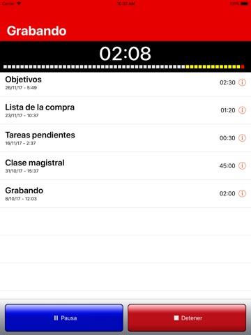iRecorder Pro Audio Recorder screenshot 2