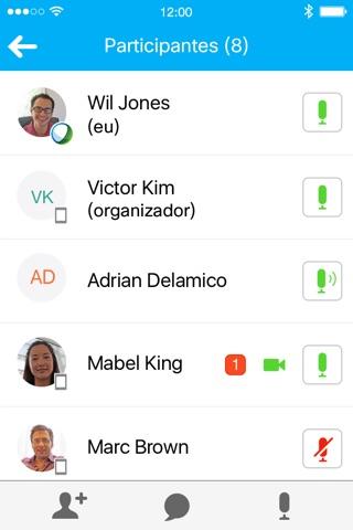 Cisco WebEx Meetings screenshot 4