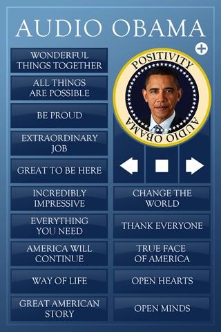 Audio Obama - soundboard screenshot 4