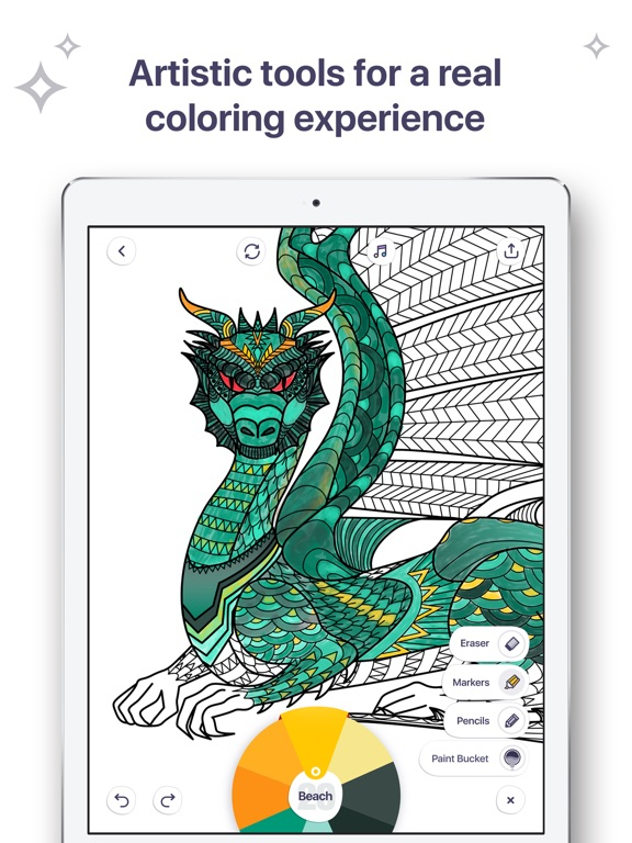 Screenshot #3 for Coloring Book for Me