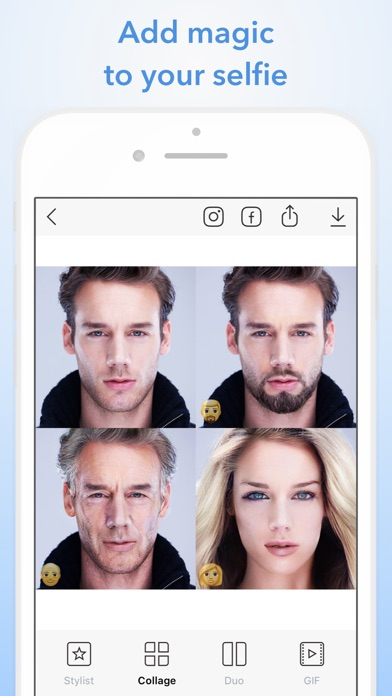 download FaceApp: Neural Face Magic apps 1