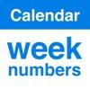Kalender Wochen Numme KWs