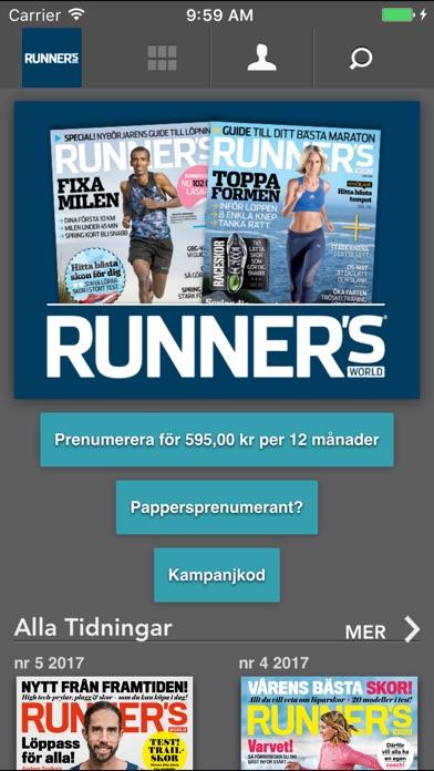 runners world app