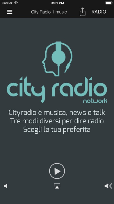 Screenshot of CITY RADIO Network1
